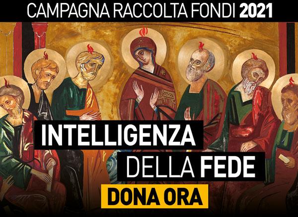 Raccolta fondi Estate 2021 Intelligenza della fede