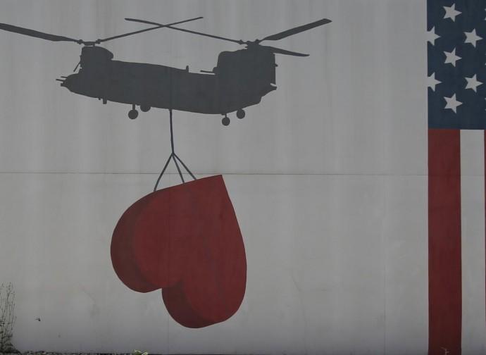 afghanistan murales
