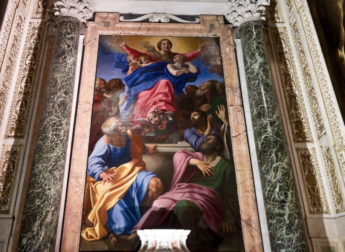 Carracci's Assumption
