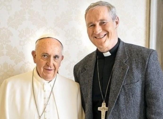 Pope Francis and Robert Bezak