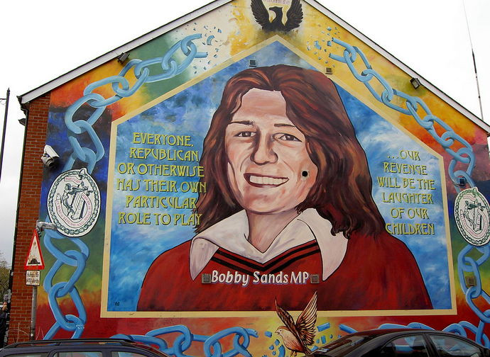 Bobby Sands on a Murales