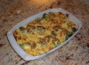 Broccoli gratin with Parmesan cheese