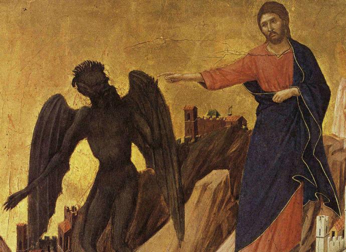 Temptations, Duccio di Boninsegna