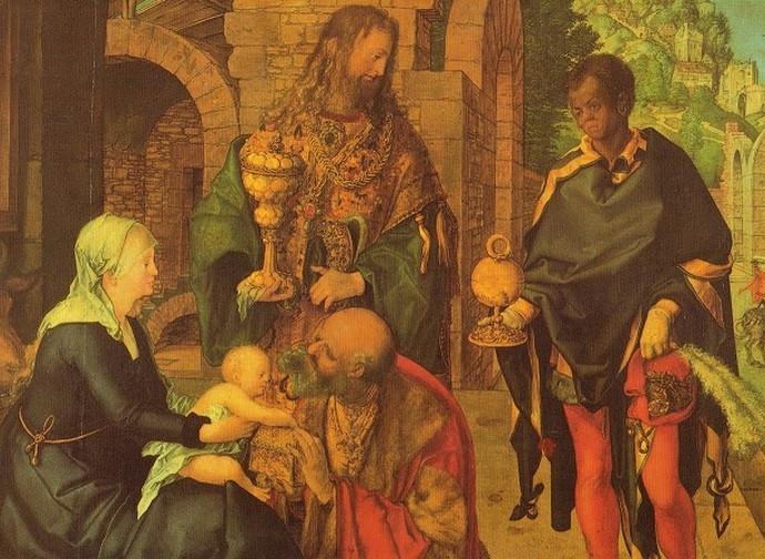 Durer, Adoration of the Kings