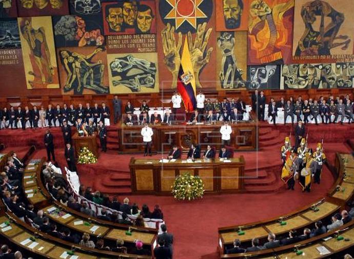 The Parliament in Ecuador