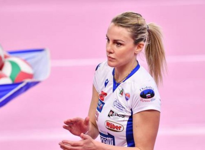 The volleyball player Francesca Marcon