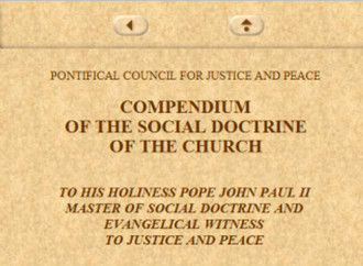 No more Justice and Peace in the Vatican
