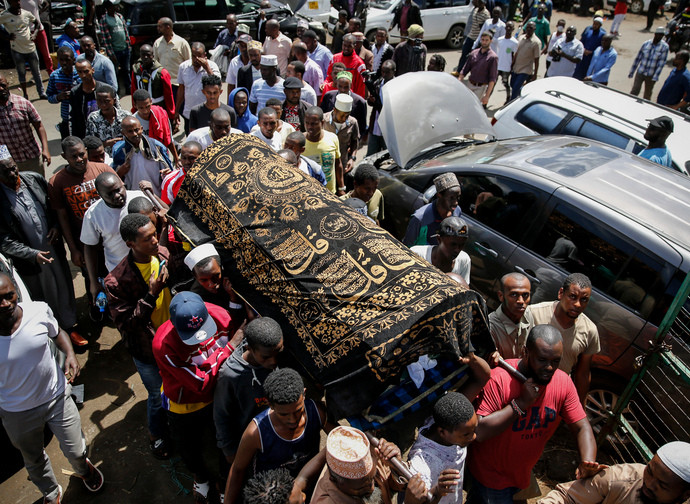 Nairobi, Yassin funeral