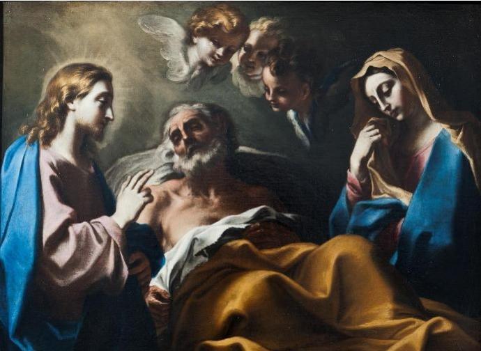 Death of St Joseph - Legnanino