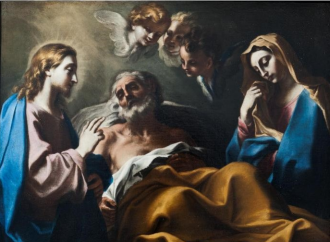 St Joseph, Patron of a Happy Death (the true good death)