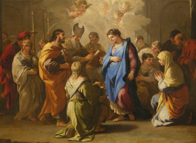 Luca Giordano, Feast of the Marriage, Louvre