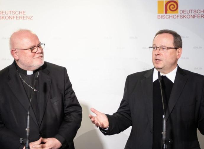 Cardinal Marx and bishop Batzing