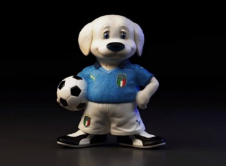 """A """"Made in Italy"""" canine mascot set for football victory"""