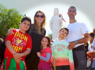 Leukaemia, an Angel, and a family saved by Mary