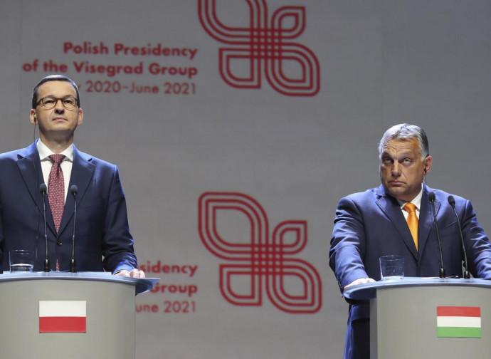 Morawiecki and Orban
