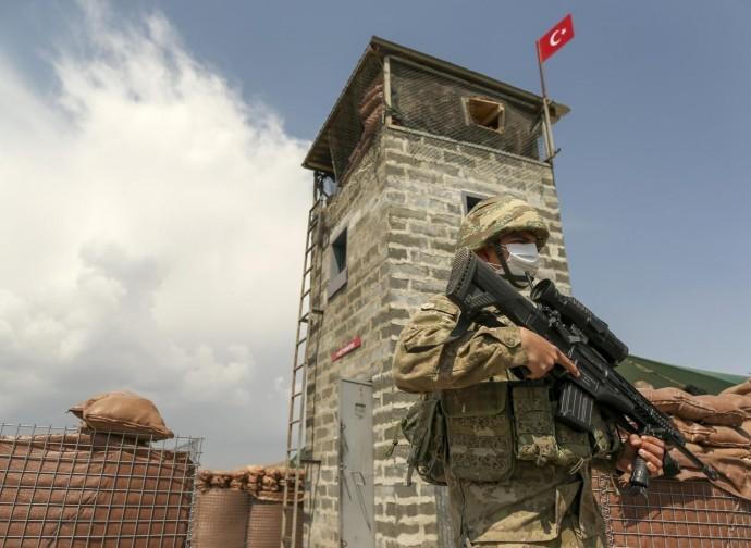 A wall in Turkey