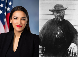 If Ocasio-Cortez hurls abuse at the patron saint of lepers...