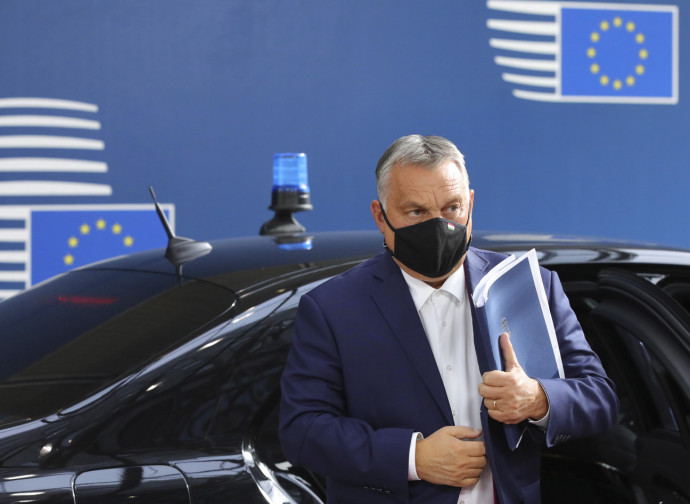 Viktor Orban in Bruxelles