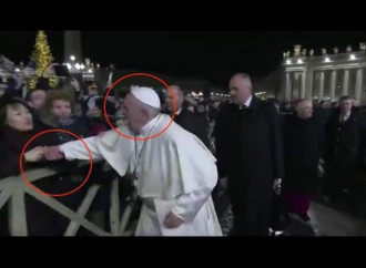 A Papal slap. The price of Media Hype