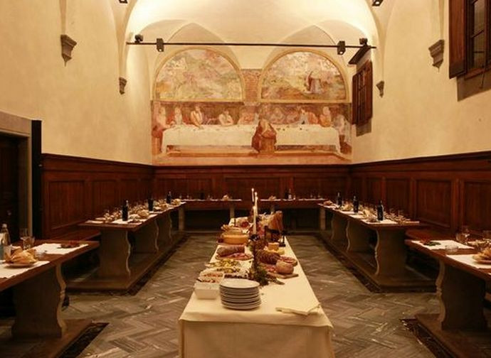 Franciscan refectory, Convent of Giaccherino (Tuscany)