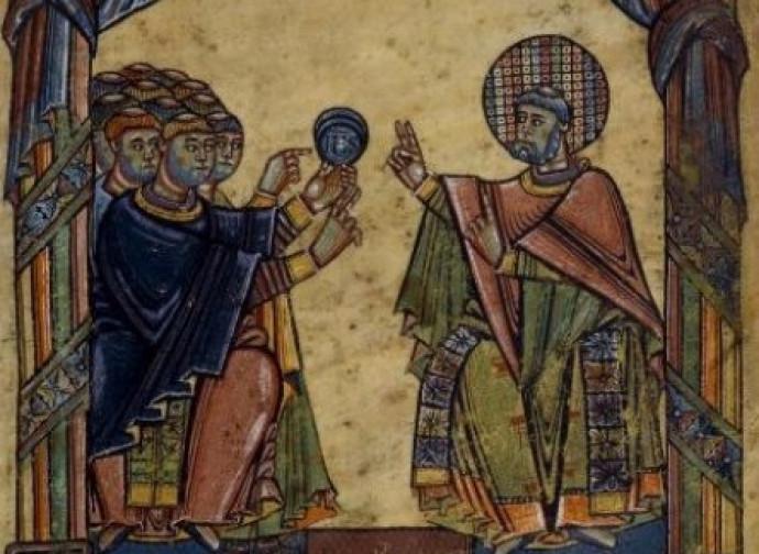 Saint Albinus of Angers
