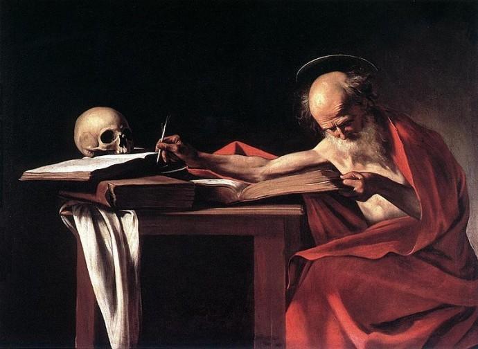 Saint Jerome - Caravaggio