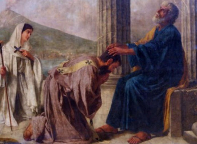 Saint Aspren of Naples