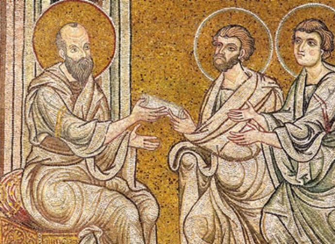 Saints Timothy and Titus, Monreale Cathedral