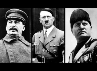 Stalin, Hitler and Mussolini