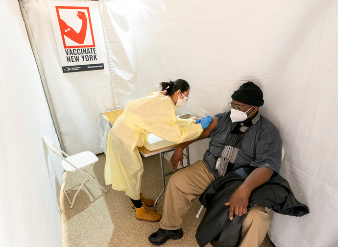 Vaccination in New York