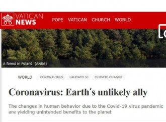 Coronavirus and ecologism, Vatican News fools no-one