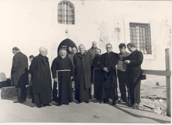 Wojtyla in San Giovanni Rotondo